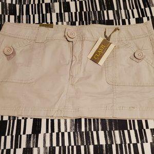 Clash Mini Skirt